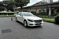 Certified Pre-Owned Mercedes-Benz S320L | Cars and Coffee Singapore