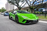 Certified Pre-Owned Lamborghini Huracan LP640-4 Performante | Cars and Coffee Singapore