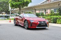 Certified Pre-Owned Lexus LC500 | Cars and Coffee Singapore