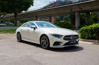Certified Pre-Owned Mercedes-Benz CLS350 AMG Coupe | Cars and Coffee Singapore