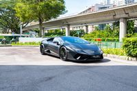 Certified Pre-Owned Lamborghini Huracan LP640-4 Performante   Cars and Coffee Singapore