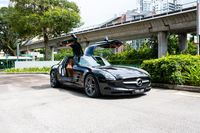 Certified Pre-Owned Mercedes-Benz SLS AMG   Cars and Coffee Singapore