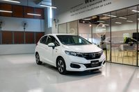 Certified Pre-Owned Honda Fit Hybrid 1.5   Cars and Coffee Singapore
