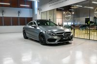 Certified Pre-Owned Mercedes-Benz C200 Coupe AMG Line | Cars and Coffee Singapore