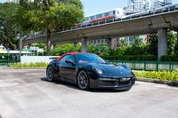 Certified Pre-Owned Porsche 911 Turbo S Cabriolet   Cars and Coffee Singapore