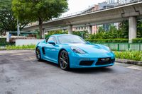 Certified Pre-Owned Porsche 718 Cayman   Cars and Coffee Singapore