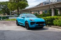 Certified Pre-Owned Porsche Macan GTS 2.9   Cars and Coffee Singapore